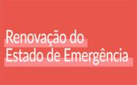 MEDIDAS DE CONTENÇÃO PARA O NOVO PERÍODO DE ESTADO DE EMERGÊNCIA